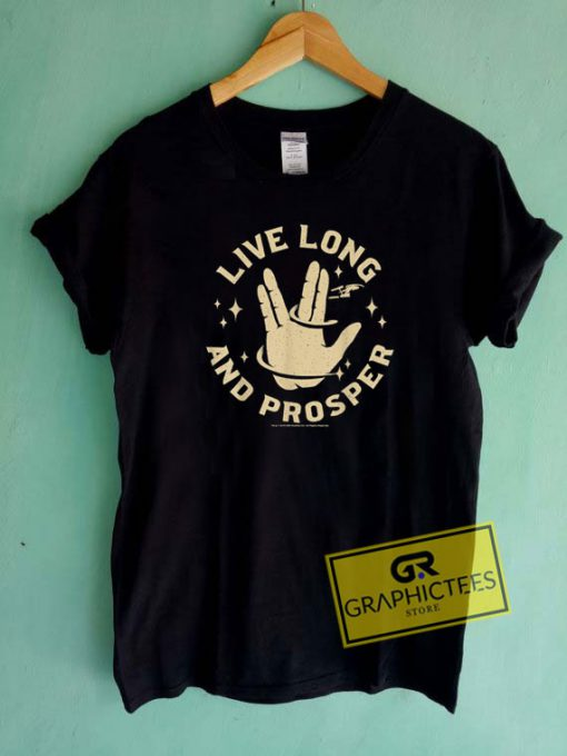 Live Long And Prosper Tee Shirts