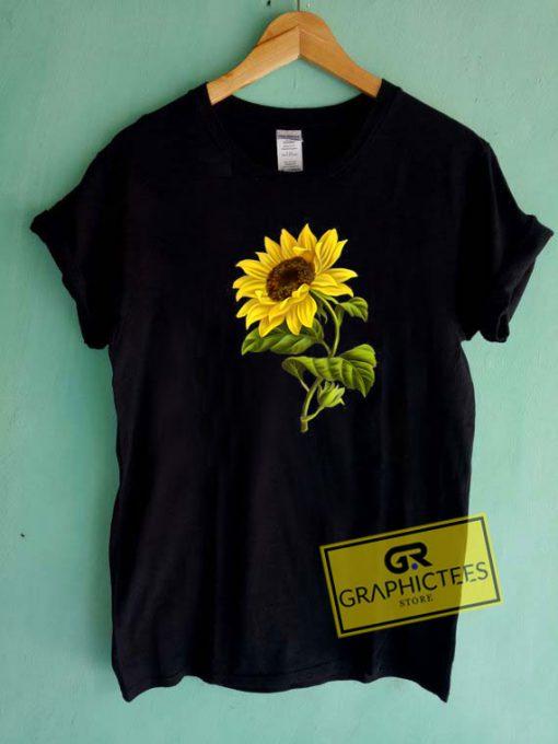 Lovely Cute Sunflower Tee Shirts