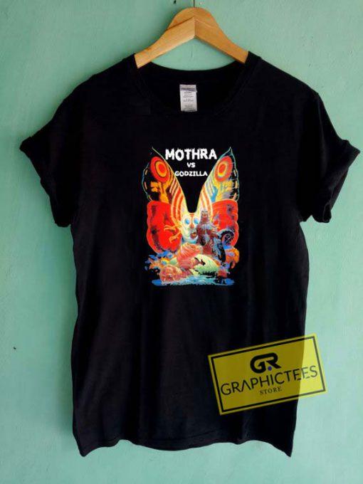 Mothra Vs Godzilla MoviesTee Shirts
