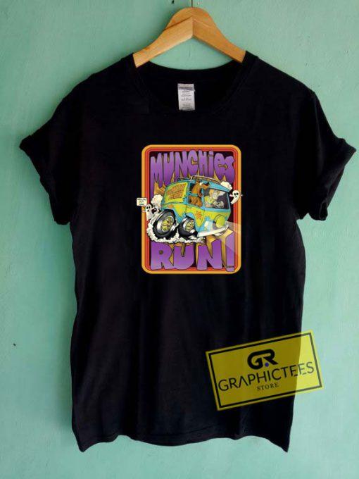 Munchies Run Scooby Doo Tee Shirts