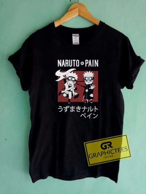 Naruto Vs Pain Tee Shirts
