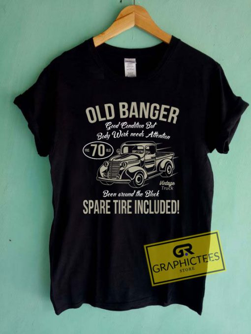 Old Banger 70 Years OldTee Shirts