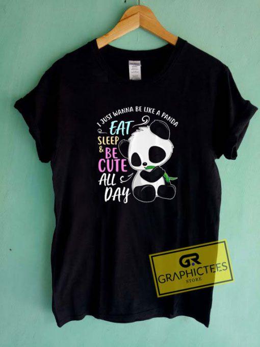 Panda LoverTee Shirts