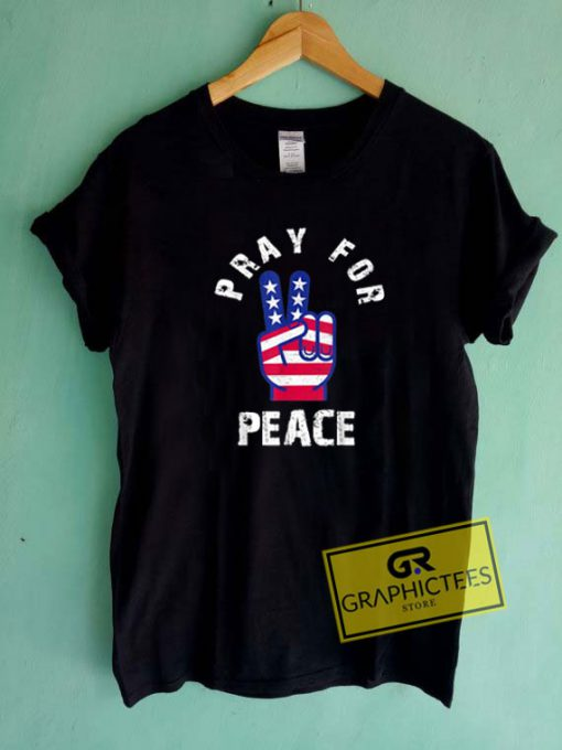 Pray For Peace Tee Shirts