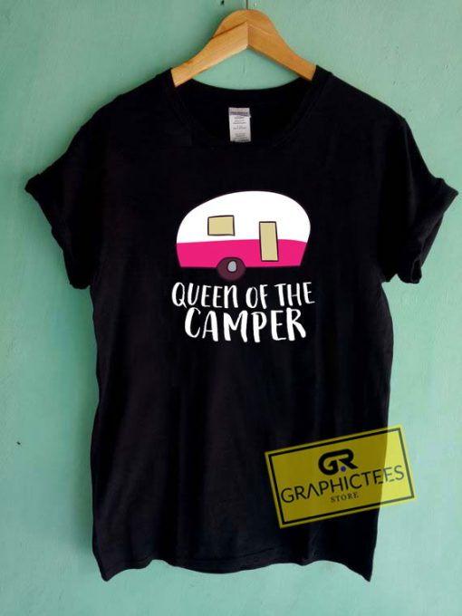 Queen Of The Camper Tee Shirts