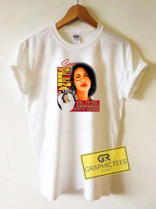 RIP Selena QuintanillaTee Shirts
