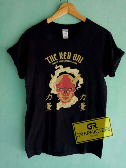 Red Oni YokaiTee Shirts