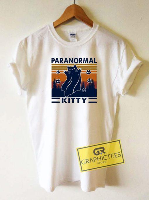Retro Paranormal KittyTee Shirts