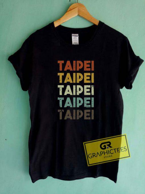 Retro Taipei Taiwan Tee Shirts