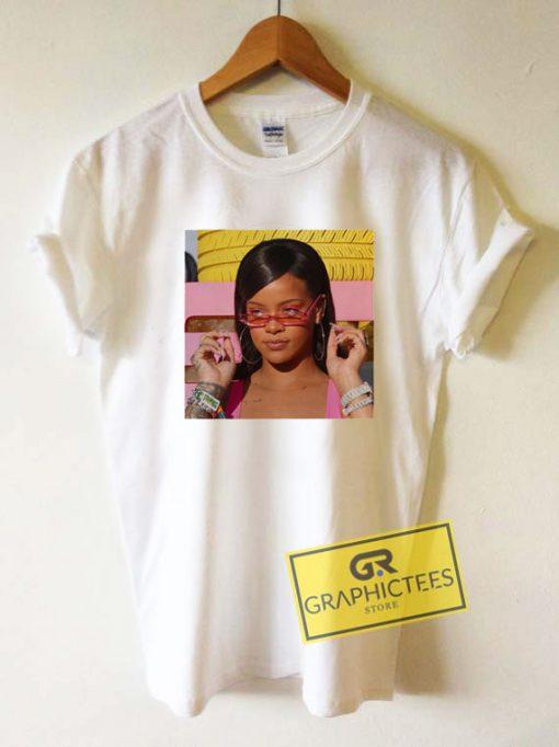 Rihanna Pink SunniesTee Shirts