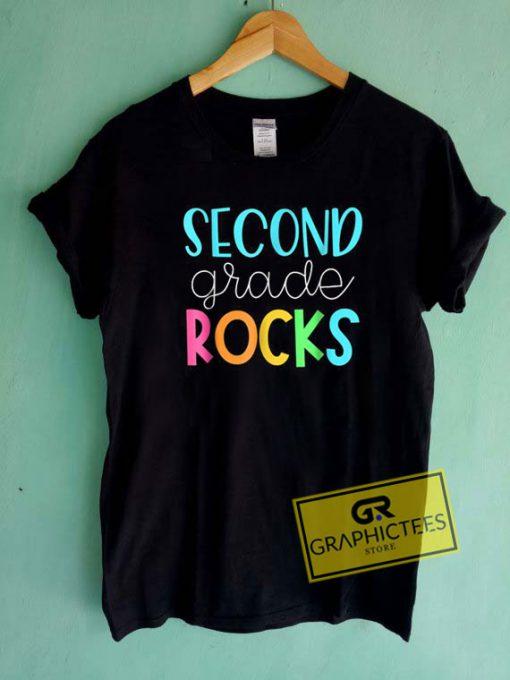 Second Grade Rocks Tee Shirts