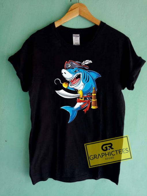 Shark Pirate Costume Tee Shirts