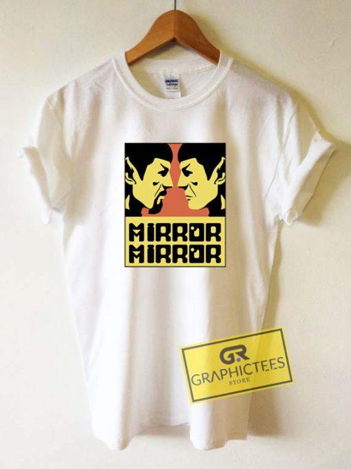 Star Trek Mirror LogoTee Shirts