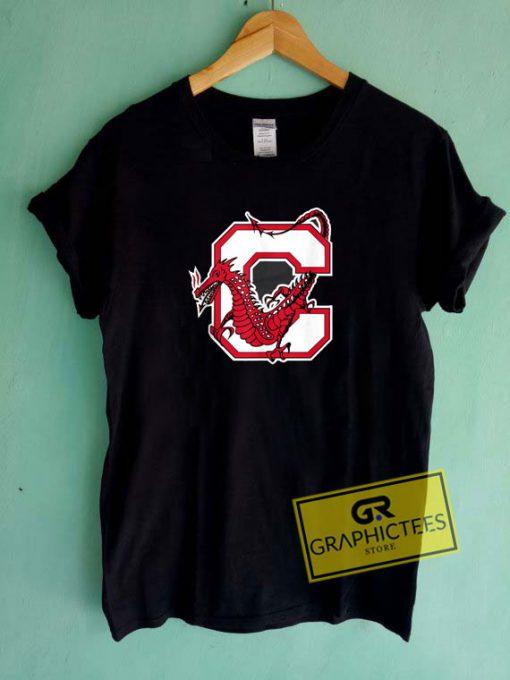Suny Cortland Red Dragons Tee Shirts