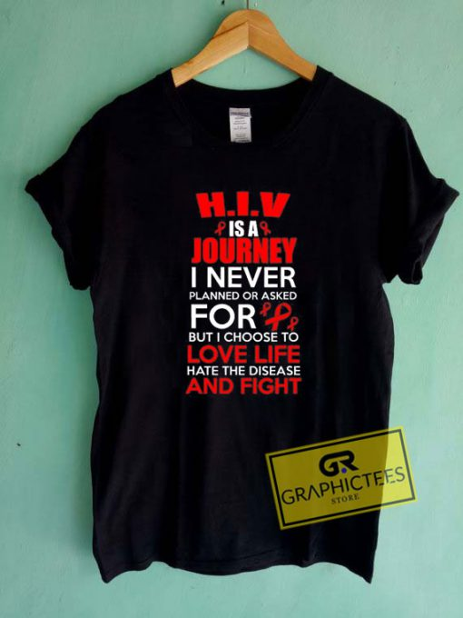 Support Hiv Awareness Tee Shirts
