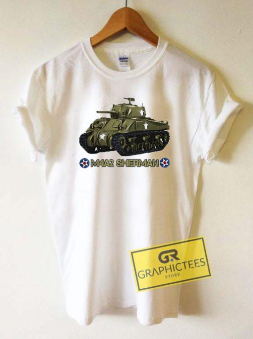 Tank M4a2 Sherman Tee Shirts