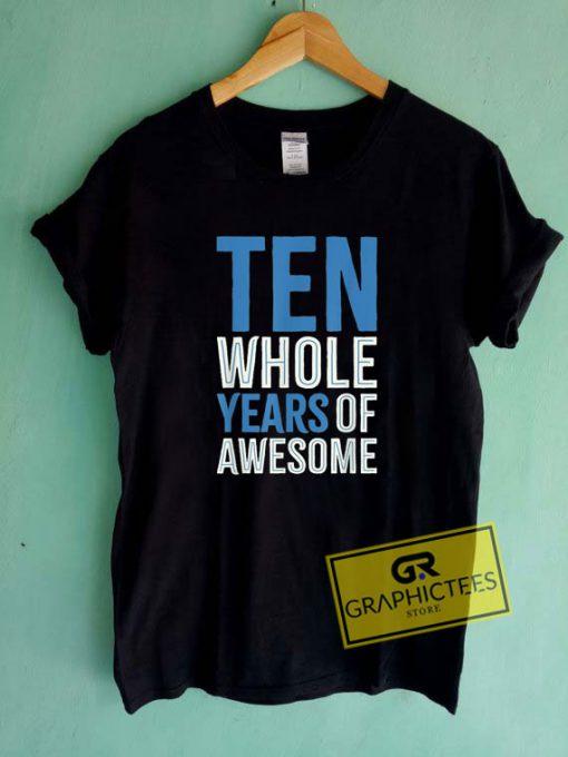Ten Year Old Boys Son Tee Shirts
