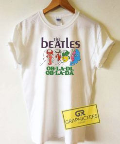 The Beatles Obladi ObladaTee Shirts