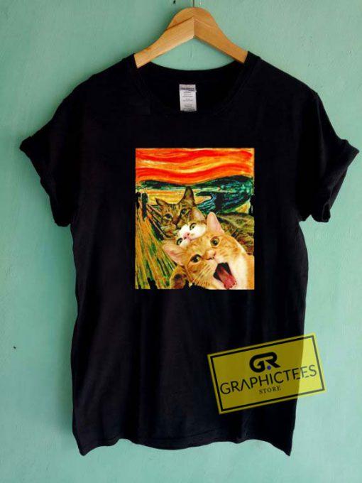 The Scream CatsTee Shirts