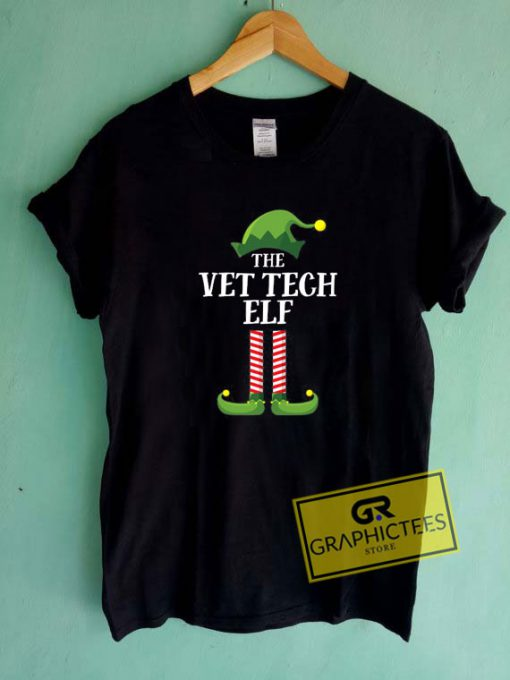 The Vet Tech Elf Tee Shirts