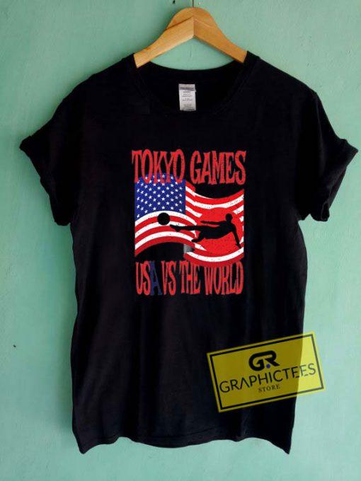 Tokyo Games Tee Shirts