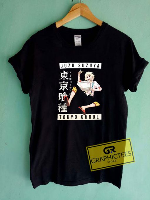 Tokyo Ghoul Juzo Suzuya Tee Shirts