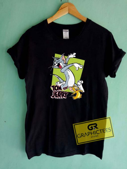 Tom And Jerry Retro StyleTee Shirts