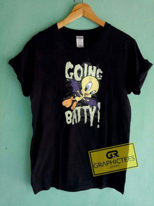Tweety Going BattyTee Shirts