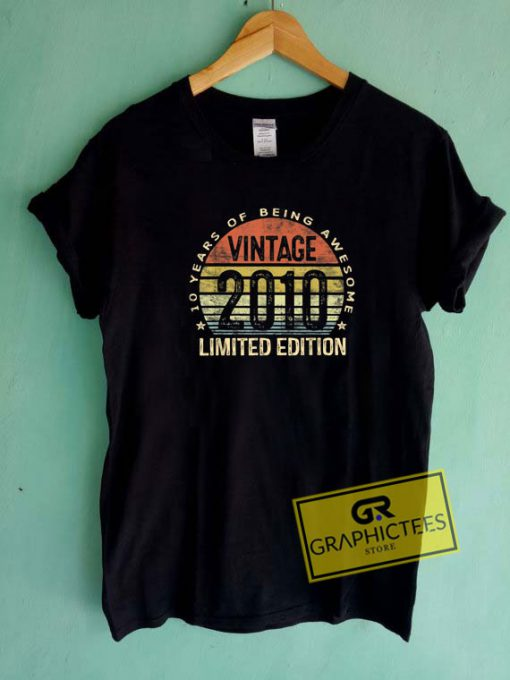 Vintage 2010 Limited EditionTee Shirts