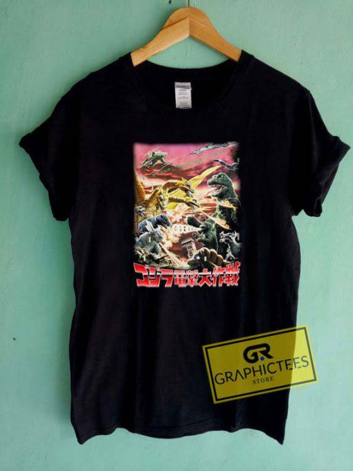 Vintage GodzillaTee Shirts