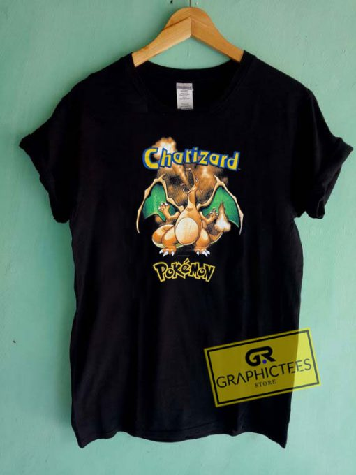 Vintage Pokemon Charizard Tee Shirts