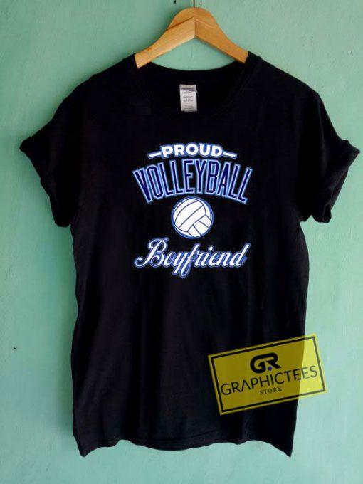 Volleyball BoyfriendTee Shirts