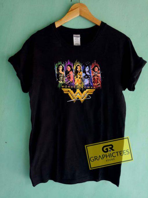 Wonder Woman Graphic Tee Shirts
