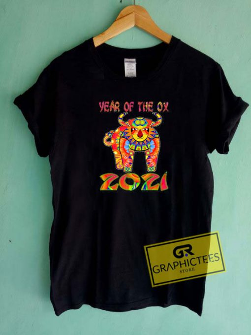 Year Of The Ox 2021Tee Shirts