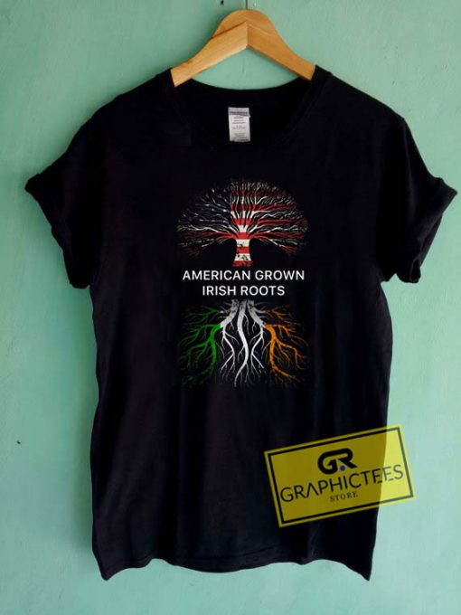 American Grown Irish Roots Tee Shirts