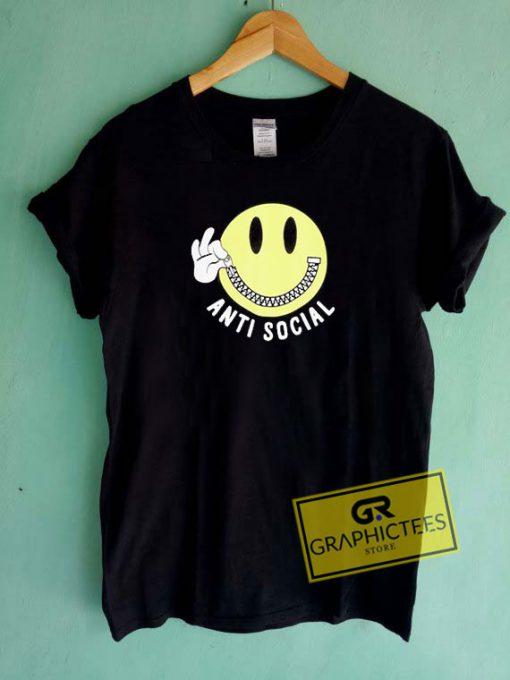 Anti Social SmileyTee Shirts