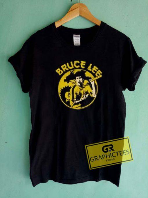 Bruce Lee And Dragon Tee Shirts