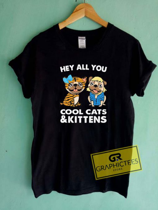 Bulldogs Cool Cats And Kittens Tee Shirts