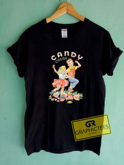 Candy Land Crush Tee Shirts