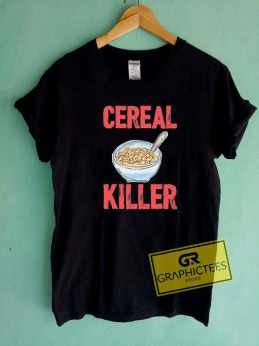 Cereal Killer Funny FoodTee Shirts