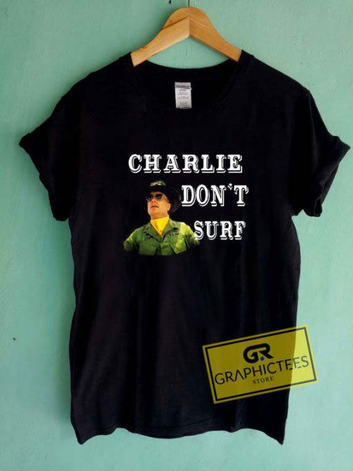Charlie Dont Surf Vintage Tee Shirts