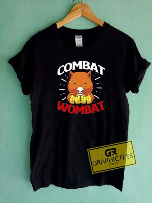Combat Wombat Tee Shirts