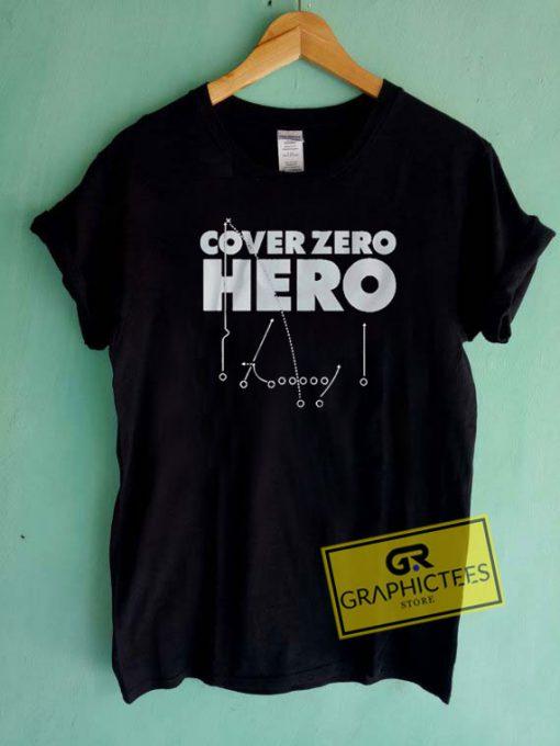 Cover Zero Hero Tee Shirts