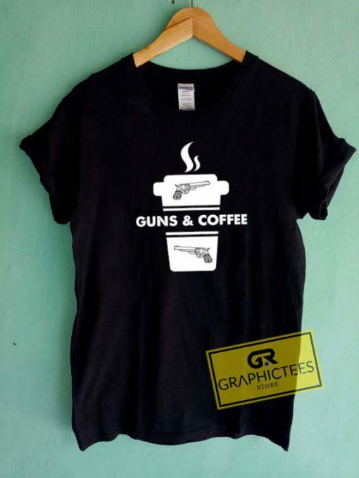 Guns And CoffeeTee Shirts