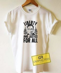 Liberty And Justice Tee Shirts