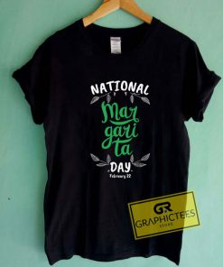 National Margarita Day Tee Shirts