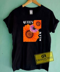 Queen And Slim Flowers Tee Shirts
