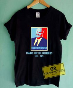 Rush Limbaugh Memories Tee Shirts