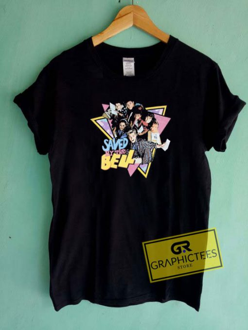 Saved By The Bell Triangle Tee Shirts
