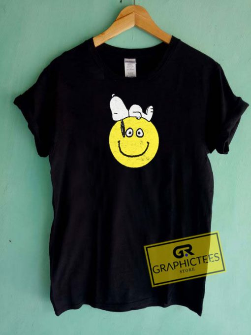 Snoopy With SmileyTee Shirts